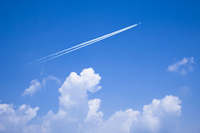 Contrail Stock photo [1150955] Contrail