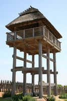 Yoshinogari site watchtower Stock photo [1152781] Yoshinogari