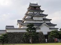 Wakamatsu Castle castle tower Stock photo [1153822] Aizu