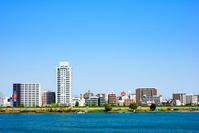 River and cityscape Stock photo [1156671] Osaka