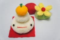 Felt, Kagami mochi Stock photo [1158985] Kagami