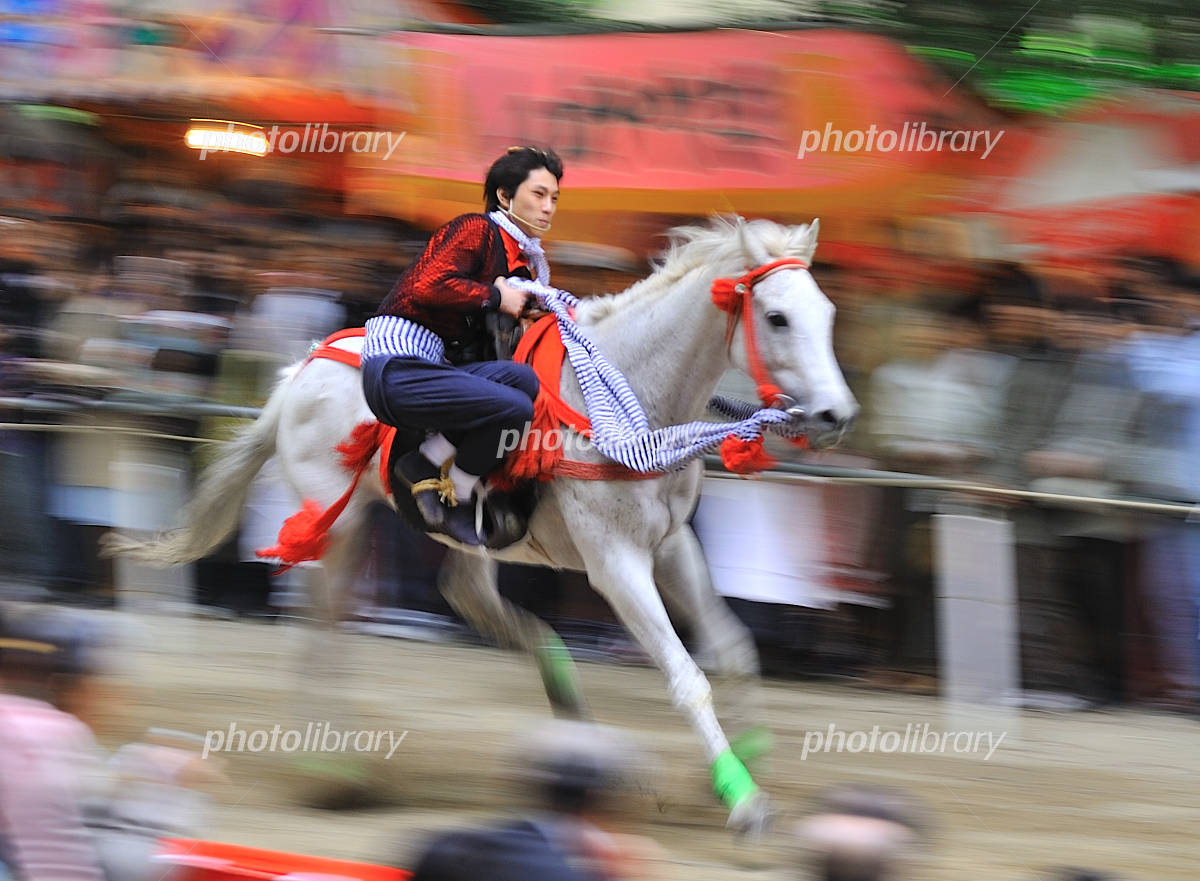 京都 藤森神社 駈馬神事の写真