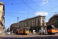 Tram that runs the city of Milan Stock photo [1251890] Italy