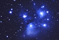 Pleiades star cluster Stock photo [1251947] Pleiades