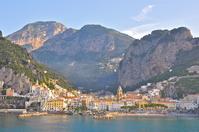 Of Italy World Heritage Amalfi Coast Stock photo [1255675] Italy