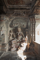 Ellora Caves Statue of the 32 cave Jain temple Stock photo [1255703] Ellora