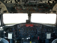 Aircraft cockpit Stock photo [1259056] Rides