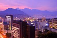 Sunset of Oita Stock photo [1260323] Oita