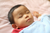 Sleeping face of infant (1-year-olds) Stock photo [1260338] Infant