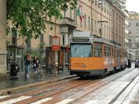 Milan tram Stock photo [1260594] Tram