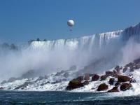 Niagara Falls and the balloon Stock photo [1348015] Niagara
