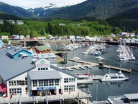 Harbor in Alaska Ketchikan Stock photo [1349838] Alaska