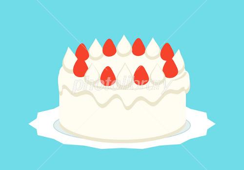 イチゴのショートケーキ イラスト素材 1444779 フォトライブラリー