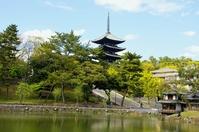 World Heritage, Nara and Kofukuji Stock photo [1432602] Kofukuji