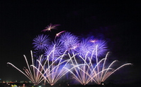 Joso Kinugawa fireworks Stock photo [1432996] Joso