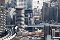 building highway passes through Stock photo [1433100] Osaka
