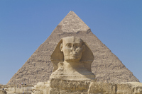 Pyramids and Sphinx Stock photo [1433781] Egypt