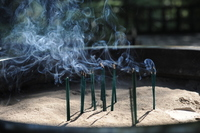 Smoke of incense Stock photo [1434862] Incense