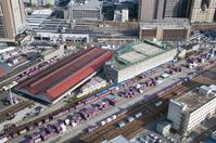 Umeda freight station Stock photo [1439878] Osaka