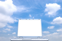 Laptop monitor and sky Stock photo [1440179] Laptop