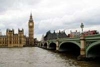 World Heritage Palace of Westminster and Big Ben in London Stock photo [1441179] London