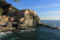 Houses of the Cinque Terre Manarola Stock photo [1442117] Italy