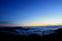 After sunset sea of clouds Stock photo [1443165] Summer