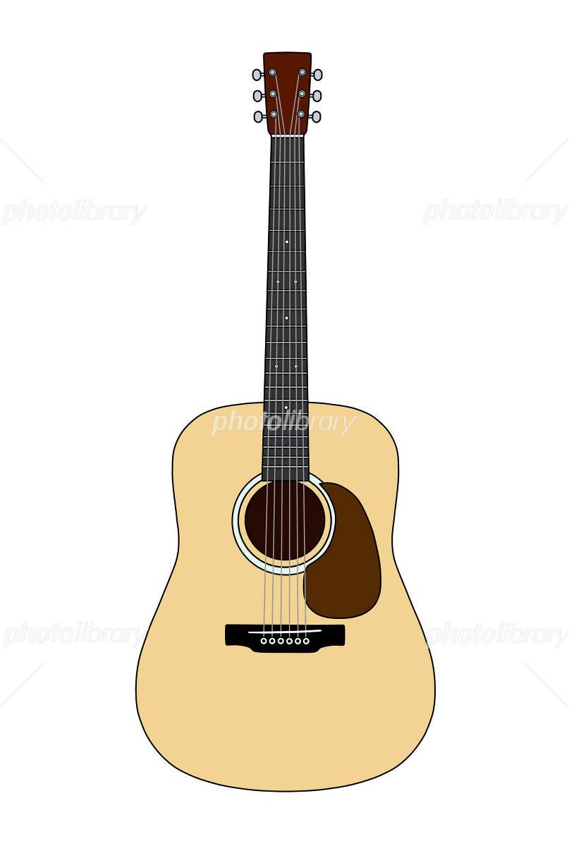 アコースティックギター イラスト素材 1536117 フォトライブラリー