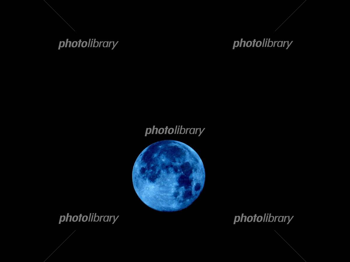 月 The Blue moon