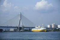 Aomori Bay Bridge and the Seikan ferry: Aomori Stock photo [1531389] Seikan