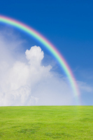 Rainbow Stock photo [1531455] Blue