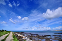 Blue sky and the sea of Penghu Island Stock photo [1536459] Taiwan
