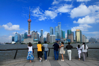 Pudong high-rise building as seen from the Bund Stock photo [1536782] Waitan