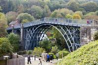 World heritage fall of Iron bridge valley Stock photo [1541977] Iron