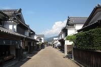 Town streets of Tokushima Prefecture Mima Udatsu Stock photo [1543498] Tokushima