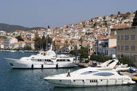 Greece Aegean Poros Stock photo [1543530] Aegean