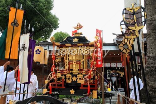 博多おくんちの櫛田神社 写真素...
