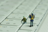 Repair of keyboard Stock photo [1640209] Keyboard