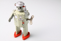 Tin robot Stock photo [1640413] Robot