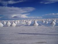 Bolivia Uyuni salt lake Stock photo [1642338] Uyuni