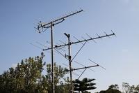 Antenna Stock photo [1642632] VHF