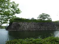大阪城の堀 の写真素材
