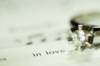 LOVE ring music Stock photo [1645116] Music