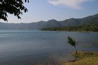 Landscape of Lake Motosu Stock photo [1646846] Yamanashi
