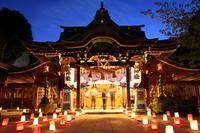 Kushida Shrine of night Stock photo [1647321] Kushida