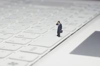 Keyboard and businessman Stock photo [1647565] Keyboard