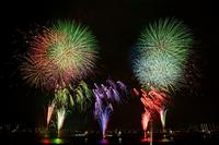 Adachi of fireworks Stock photo [1649090] Fireworks