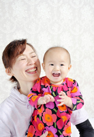 Baby and Mom vertical one Stock photo [1649167] Baby