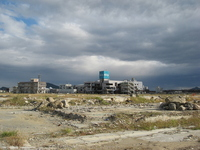 Tohoku region Pacific Ocean earthquake Rikuzentakata city center Stock photo [1649358] Great