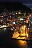Moji Port of night view Stock photo [1650339] Moji